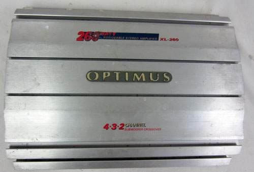 Optimus car amplifier