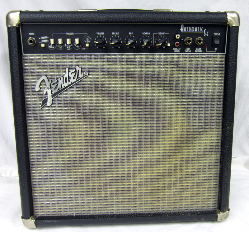 fender automatic se 90w pr 329 amplifier electric guitar amp with 8ohm speaker ebay. Black Bedroom Furniture Sets. Home Design Ideas