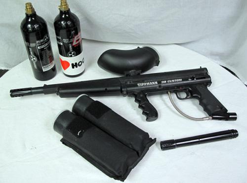 tippmann 98 custom paintball marker paint ball gun with accessories. Black Bedroom Furniture Sets. Home Design Ideas