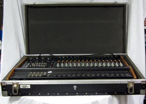audio centron ac 116 professional equipment dj sound mixer board with case ebay. Black Bedroom Furniture Sets. Home Design Ideas