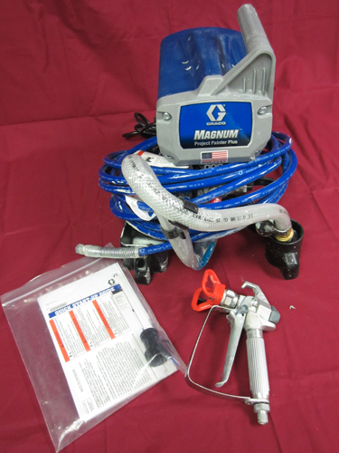 graco project painter plus Project painter plus model 257025 ti14951a important safety instructions read all warnings and instructions in this manual graco.