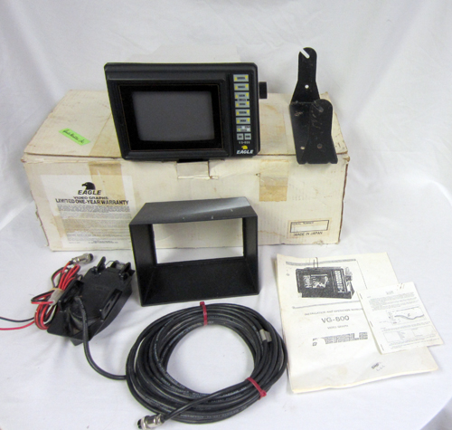 Eagle vg 800 fishfinder fishing boat fish finder model for How does a fish finder work