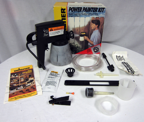 wagner power painter paint sprayer series 220 with. Black Bedroom Furniture Sets. Home Design Ideas