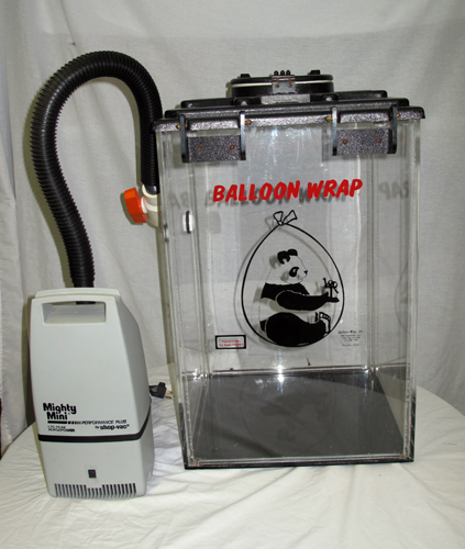 balloon wrap machine